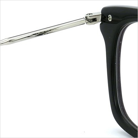 톰 브라운 안경 THOM BROWNE. NEW YORK EYEWEAR (톰 브라운 뉴욕) 안경 [TB-701 E BLK-SLV 53size BLACK-SHINY SILVER METAL] TB-701-E-BLK-SLV-53 P08Apr16