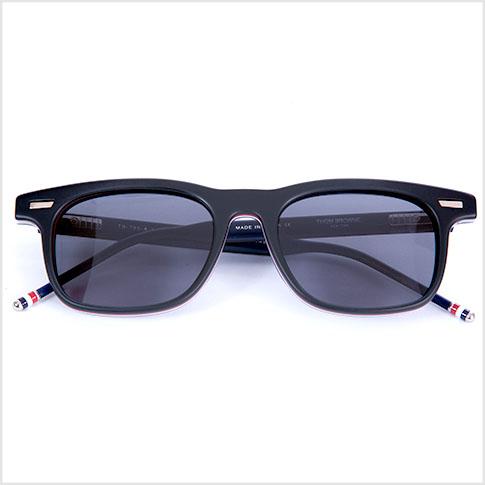 c0b3e17028f Thom glasses THOM BROWNE. NEW YORK EYEWEAR (Thom York) glasses sunglasses  TB-705-A-T-BLK-GLD-50 P08Apr16