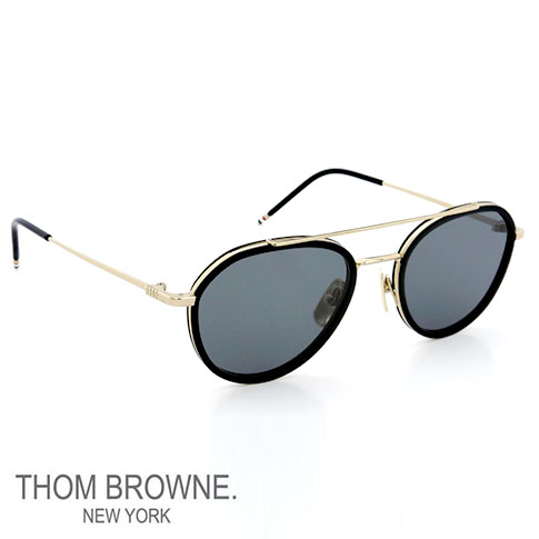 a7b8c546c22 Quirky two-bridge sunglasses should propose a Thom Browne. Is the design  method and the train on a trellis on the inside of the metal frame plastic  fabric ...