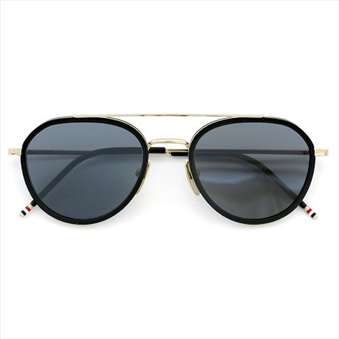 2766ab11957 Thom glasses THOM BROWNE. NEW YORK EYEWEAR (Thom York) sunglasses TB-801-A  GLD-MBLK-51 P08Apr16