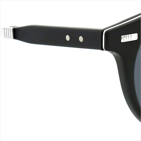 Thom glasses THOM BROWNE. NEW YORK EYEWEAR (Thom York) new folding sunglasses TB-806-A BLK-SLV-52 P08Apr16