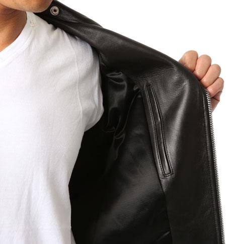 397290Y5YA11000 SAINT LAURENT L01 classic motorcycle jacket (black leather)