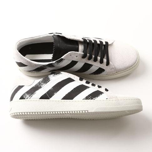 diagonal stripe print sneakers Off-white 4d0yvGD