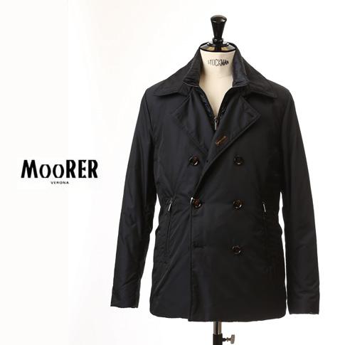 dfa2040329c25 MOORER and Moore men s shorts 2 Way P coat down jacket EMIDIO KM emidio BLU    Navy mo-emidio-km-blu
