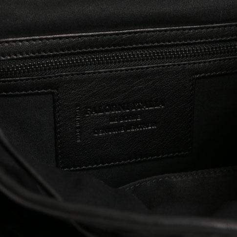 FALORNI falorni rucksack backpack intrecciato leather black bag 866 others