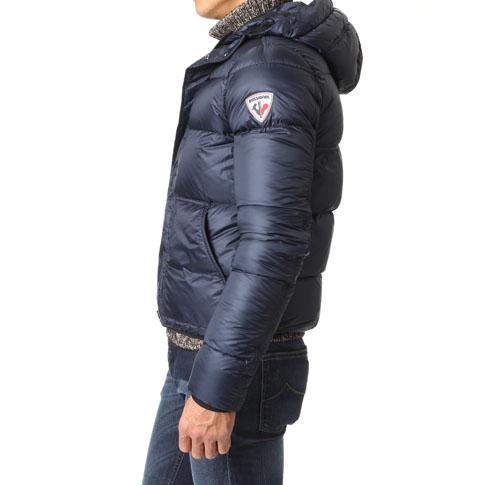 Rossignol apparel /ROSSIGNOL APPAREL's nylon down jacket DOWN LAYER JKT rlfmj67-715 Dark Navy