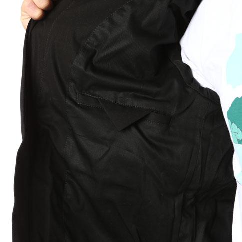 BALMAIN バルマン 재킷 DOUDOUNE MATELASSE A CAPUCHE HOMME バルマン 존 블랙 W6HT893D557 176