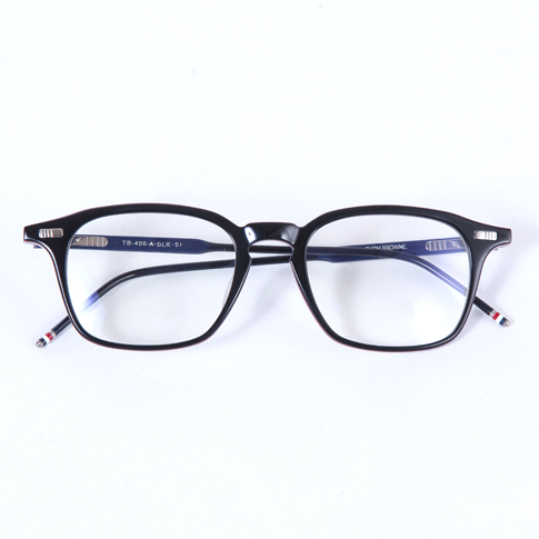 001b29de224 Thom glasses THOM BROWNE eyeglasses EYEWEAR black rwb tb-406-a 2016 new  P08Apr16
