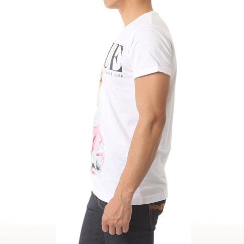 Rude 르드멘즈 T셔츠 반소매 프린트 T셔츠 DOGUE m-dogue