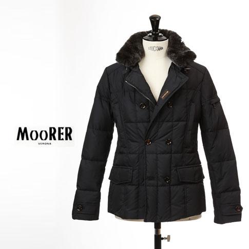 【国内正規品】MOORER / ムーレー メンズ ダブルブレスト ダウンジャケット SIRO KM2 シロ BLU / ネイビー