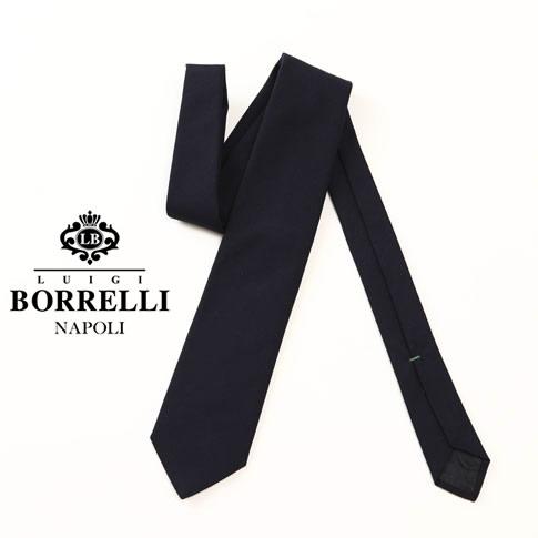 【秋冬OUTLET】Luigi Borrelli ルイジ ボレッリ ネクタイ ウール76% コットン24% nr85-t4099-01