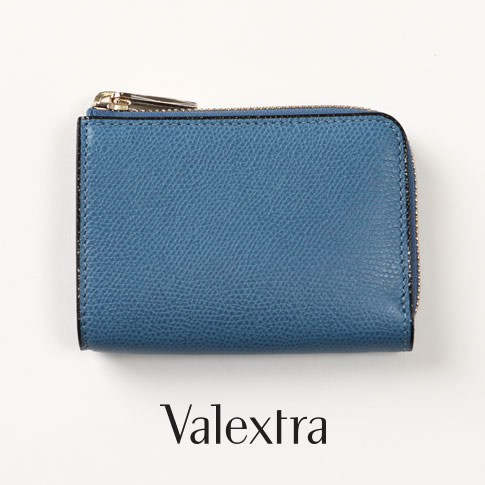 Valextra ヴァレクストラ / キーケース cobalto コバルトブルー