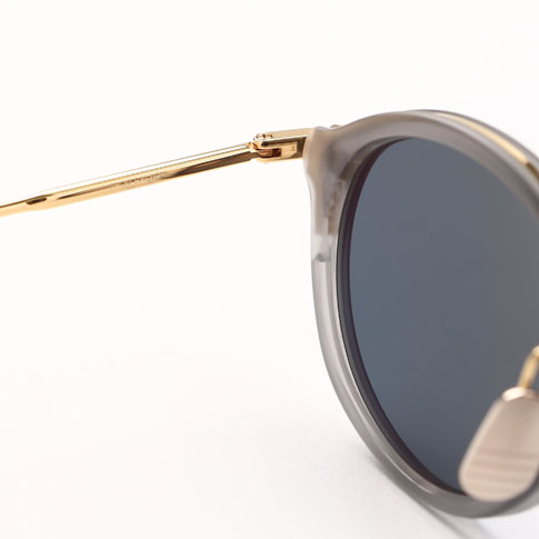 Tom Browne glasses THOM BROWNE. NEW YORK EYEWEAR (Tom Browne New York) sunglasses [TB-011-G-T-GRY-GLD-49]TB-011