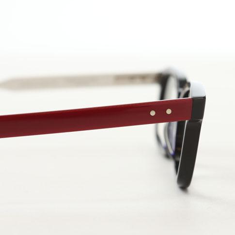 bd600eb781 Tom Browne glasses THOM BROWNE. NEW YORK EYEWEAR (Tom Browne New York)  glasses  TBX-410 50size 04 Red White Navy  red white navy tbx-410-04-50