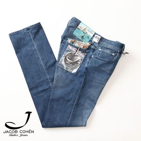 ヤコブコーエン / JACOB COHEN / ヤコブコーエン ジーンズ / J622 COMFORT ジーンズ / SPECIAL ART(Venezia) モデル ヴィンテージウォッシュドブルー 226-50724-75
