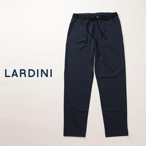 【セットアップ有】LARDINI easy wear ナイロン ストレッチ パッカブル ラルディーニ パンツ ネイビー pj1-ee50025-850