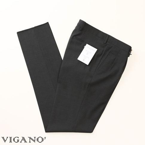 【全品送料無料】VIGANO ヴィガーノ ウールパンツ チャコールグレー vig99-5737-943