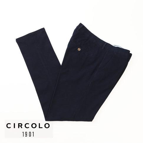 CIRCOLO チルコロ ジャージ パンツ コットンストレッチ パンツ セットアップ有 cn1881-indaco