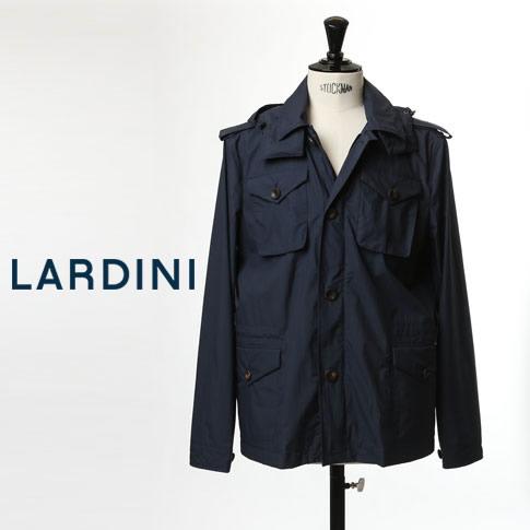 【価格見直しました】LARDINI ラルディーニ パッカブル ジャケット M-65 ジャケット ナイロンブルゾン ナイロンジャケット ネイビー lfj-50060 2018春夏新作