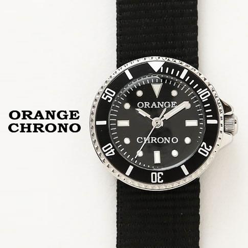 【全品送料無料】orange chrono オレンジ クロノ KOROKAWA コロカワ ミニ 防水 時計 ブラック ock-b