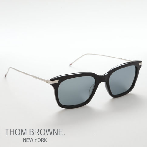 トムブラウン メガネ THOM BROWNE. NEW YORK EYEWEARトムブラウン サングラス[TB-701-H-T Dark Grey -Silver Mirror 49size]