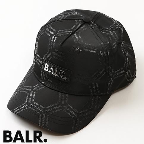 【NEW YEAR SALE】ボーラー BALR. キャップ 10434 LOAB HEXAGON CLASSIC CAP BLACK ブラック