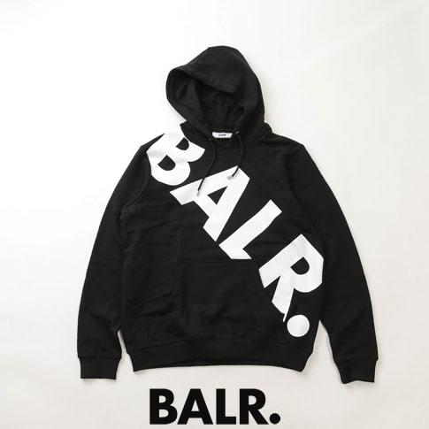 【全品送料無料】ボーラー BALR. パーカー 10440 TILTED LOGO HOODIE BLACK ブラック