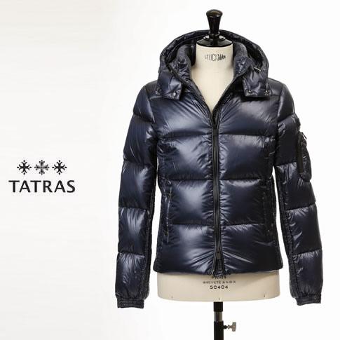 【2020半期決算セール】タトラス ダウン メンズ TATRAS ダウン メンズ BELBO シャイニーナイロン ダウンジャケット MTA20A4562 ネイビー