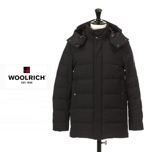 【全品送料無料】ウールリッチ / WOOLRICH メンズ ダウンジャケット SIERRA LONG WOLOW0009 ブラック wolow-0009-100