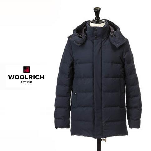【2020半期決算セール】ウールリッチ / WOOLRICH メンズ ダウンジャケット SIERRA LONG WOLOW0009 ネイビー wolow-0009-3989