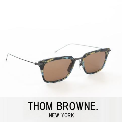 【全品送料無料】【最新モデル入荷】トムブラウン メガネ ウェリントン メタルハーフリム THOM BROWNE. NEW YORK EYEWEARトムブラウン サングラス TBS916-51-02 NAVY TORTOISE & BLACK IRON