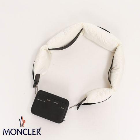 【2020半期決算セール】【限定品】VALEXTRA(ヴァレクストラ)x MONCLER GENIUS (モンクレール ジーニアス)「CROSSBODY BAG WITH STRAP」 MONCLER GENIUS 2 MONCLER 1952 02s68-00627-999