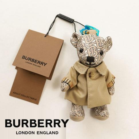 【全品送料無料】BURBERRY バーバリー トーマスベア レザーチャーム イン トレンチコート TBモノグラムプリント 80151021