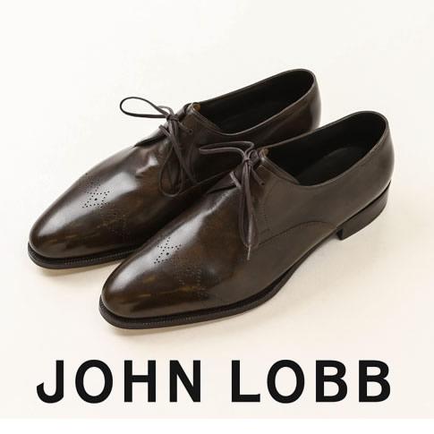 【全品送料無料】JOHN LOBB純正ブラシ付(HARD&SOFT)JOHN LOBB / ジョンロブ ELSWICK / エルスウィック 2アイレット PRESTIGE / プレステージライン 7000番 Eワイズ Petrol