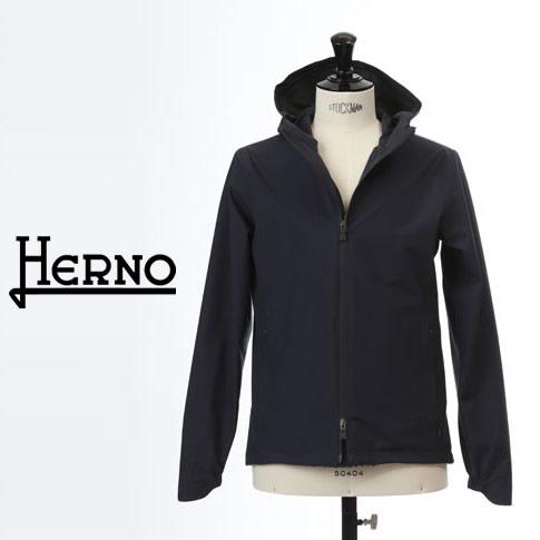 【2020半期決算セール】HERNO / ヘルノ メンズ Laminar(ラミナー)マウンテンパーカー ブルゾン ラミナー ゴアテックス 撥水 ネイビー LAMINAR GORETEX GI050UL 11101 9201
