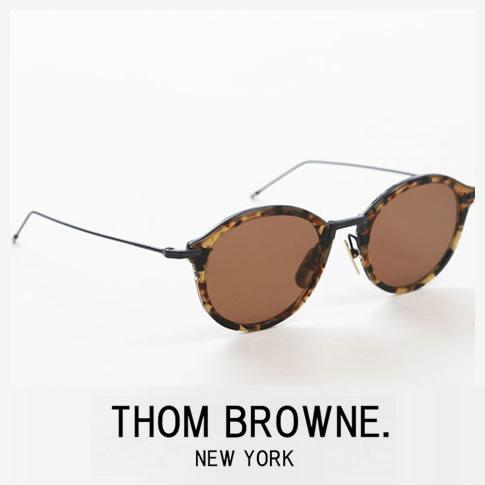 【全品送料無料】トムブラウン メガネ ボストンシェイプ THOM BROWNE. NEW YORK EYEWEARトムブラウン サングラス tbs-908-49-02