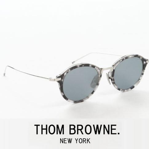 【全品送料無料】トムブラウン メガネ ボストンシェイプ THOM BROWNE. NEW YORK EYEWEARトムブラウン サングラス tbs-908-49-03