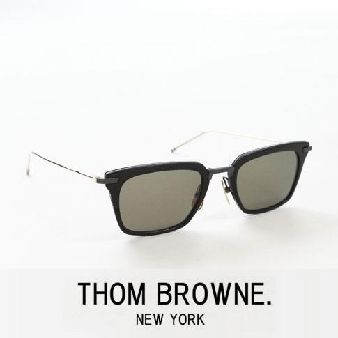 【全品送料無料】【最新モデル入荷】トムブラウン メガネ ウェリントン メタルハーフリム THOM BROWNE. NEW YORK EYEWEARトムブラウン サングラス TBS916-51-01 BLACK-BLACK IRON & WHITE GOLD