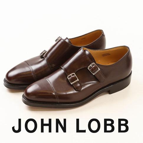 【全品送料無料】JOHN LOBB純正ブラシ付(LONG BRUSH)JOHN LOBB / ジョンロブ WILLIAM / ウィリアム ダブルモンクストラップ 9975番 Eワイズ Dark Oak calf