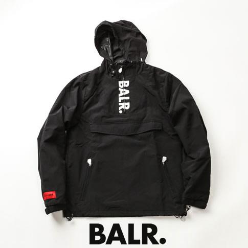 【2020半期決算セール】ボーラー BALR. ウィンドブレーカー POCKET ANORAK ブルゾン ナイロンパーカー ブラック b10116-black