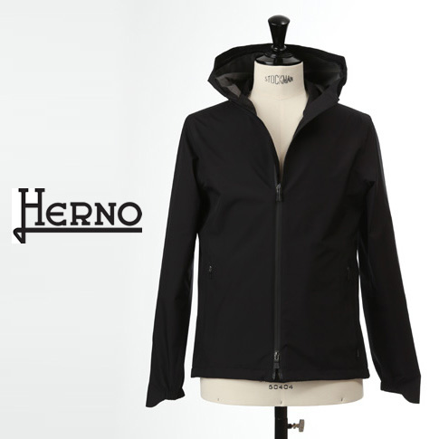 【全品送料無料】HERNO / ヘルノ メンズ Laminar(ラミナー)マウンテンパーカー ブルゾン ラミナー ゴアテックス 撥水 ブラック LAMINAR GORETEX GI050UL 11101 9300