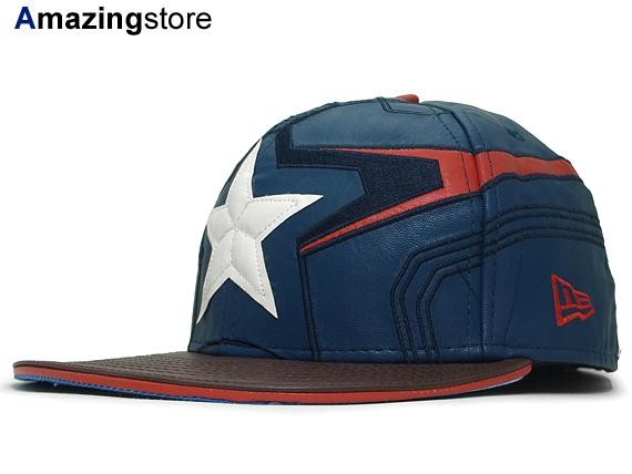 24b84ab64836d NEW ERA MARVEL COMICS AVENGERS new era Marvel Comics Avengers Captain  America 59FIFTY fitted FITTED CAP ...