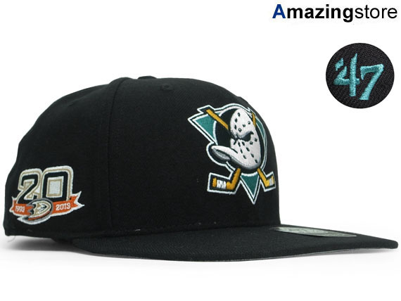 auc-amazingstore  Forty seven brand Anaheim Mighty Ducks Snapback ... d7d693a3767