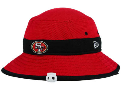 5ac6aae3a NEW ERA SAN FRANCISCO 49ERS new gills San Francisco forty-niners pail hat  training camp red red [17_8_2NFL 17_8_3 for the woman for the hat cap men  ...