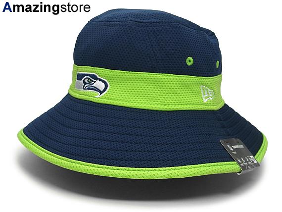 276d729b9a9 NEW ERA SEATTLE SEAHAWKS new era Seattle Seahawks bucket Hat  NFL Hat  headgear 15   9   115   9   2