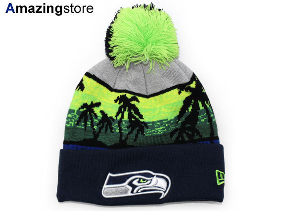 2f5f966e8a5 NEW ERA SEATTLE SEAHAWKS new era Seattle Seahawks knit hat Beanie  Hat head  gear new era caps new era Cap 15   11   3KNT 15   11   4
