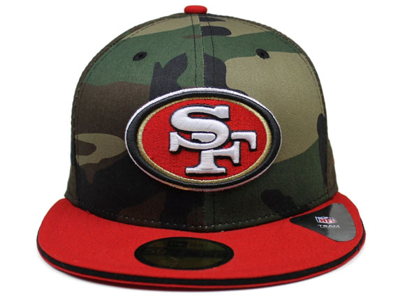 cc689ae0 NEW ERA SAN FRANCISCO 49ERS new era San Francisco forty niners 59FIFTY  FITTED CAP fitted caps camouflage Camo [big hat head gear new era cap new  era ...