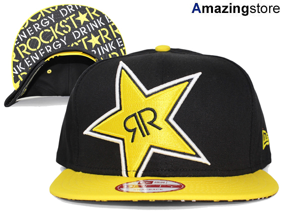 fbe64ec5a3c615 ... cheap new era rockstar energy drink new gills rock star energy drink  9fifty snapback black black