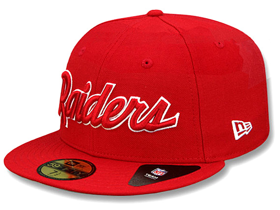870a7776e0ed22 NEW ERA OAKLAND RAIDERS new gills Oakland Raiders draft 59FIFTY フィッテッドキャップ  FITTED CAP red