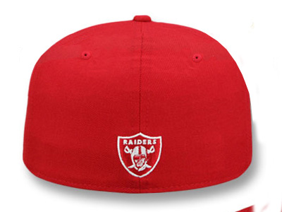 ddfd4d36ac53f2 ... NEW ERA OAKLAND RAIDERS new gills Oakland Raiders draft 59FIFTY  フィッテッドキャップ FITTED CAP red